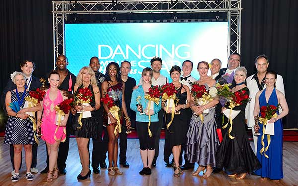 the cast of Hopkins Dancing with the Stars