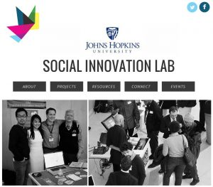 click to visit the social innovation lab