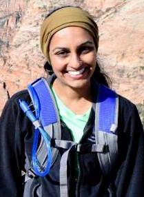 Aparna Krishnan traveling