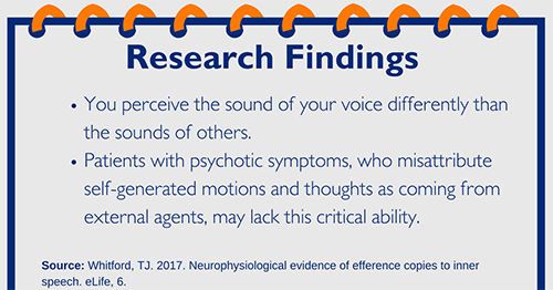The Voices in Our Head – How Can We Tell They're Ours?
