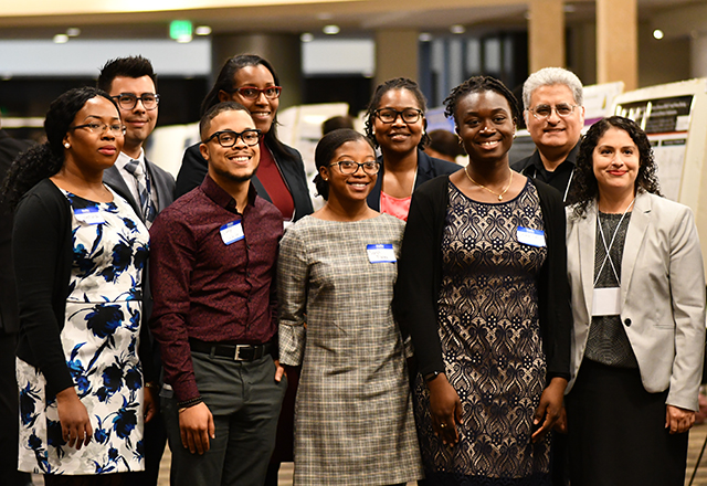 students from the diversity symposium