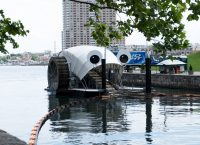 Mr. Trash Wheel in Baltimore.