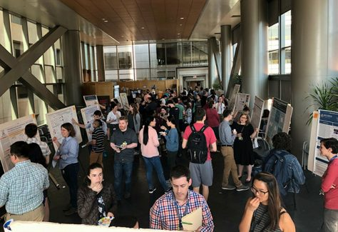 The annual GSA Week poster session.