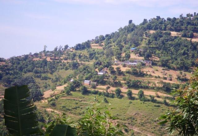 Landscape near Arghakhanchi